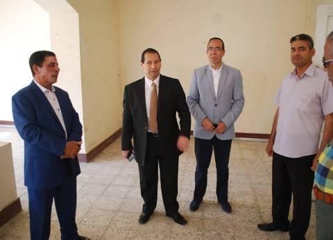 بالصور| رئيس جامعة بورسعيد يتفقد استعدادات بدء العام الدراسي الجديد