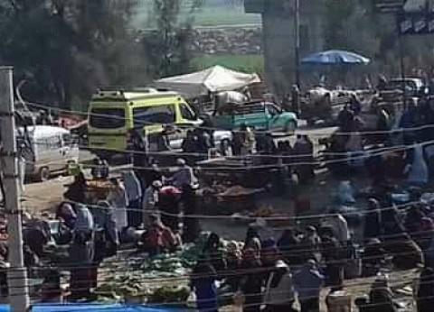 إصابة 6 عاطلين إثر مشاجرة على حراسة السيارات أمام مستشفى بني سويف