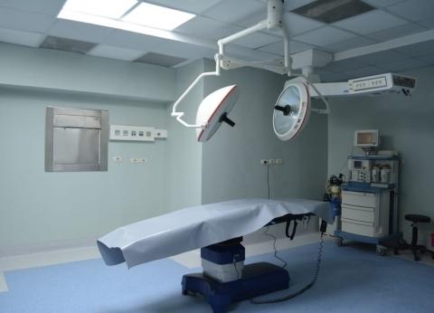 انتهاء أعمال صيانة كابل كهرباء مستشفى مطاي المركزي في المنيا