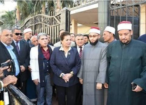 وقفة احتجاجية بالبحيرة للتنديد بالإرهاب بمشاركة المحافظ