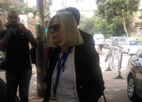 رئيسة بعثة الجامعة العربية لمتابعة الانتخابات تتابع سير التصويت في لجنة بالدقي