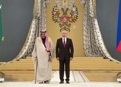 """بوتين: زيارة العاهل السعودي إلى روسيا """"حدث بارز"""""""