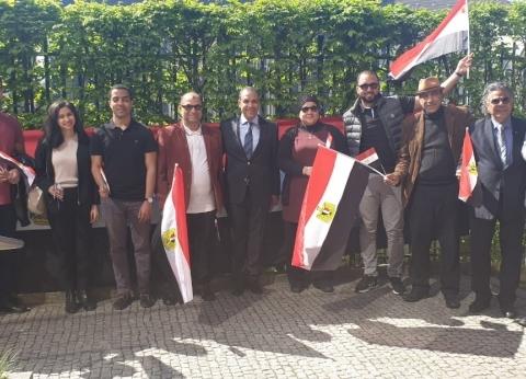 """استمرار تصويت المصريين بألمانيا.. و""""عبدالعاطي"""": بدء الفرز نهاية اليوم"""