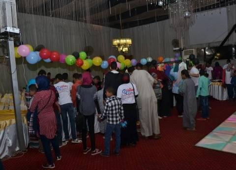 بالصور| 400 طفل يتيم يشاركون في احتفالية جمعية رسالة بالأقصر