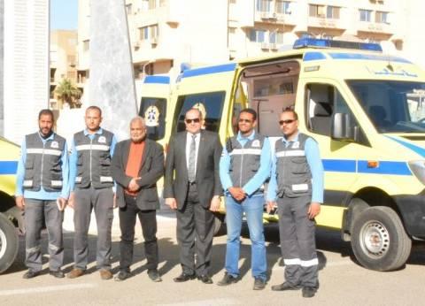 """""""صحة الإسكندرية"""": وصول حالة إغماء للعيادة المتنقلة بالمتراس"""