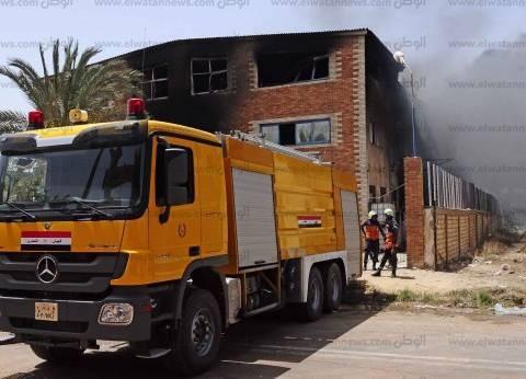 3 سيارات إطفاء للسيطرة على حريق بمنزل في الشرقية