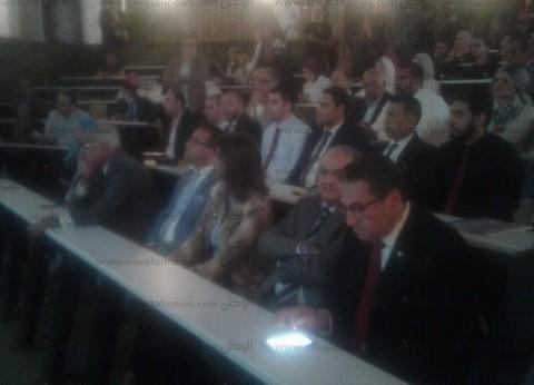 وزيرة الهجرة تشارك بمؤتمر جامعة المنصورة لدعم مركز الدكتور غنيم للكلى