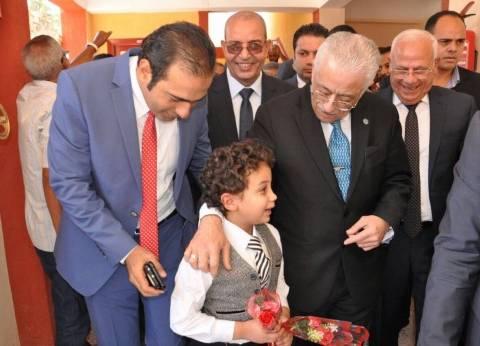 تفاصيل زيارة وزير التربية والتعليم لمدارس بورسعيد لمتابعة سير الدراسة