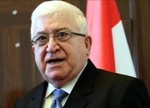 """الرئيس العراقي يهنئ شعبه بتحرير قضاء الحويجة من قبضة """"داعش"""""""