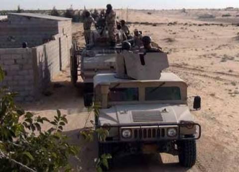 ضبط 138 دانة مدفع وتفجير مخزن للأسلحة في جنوب رفح
