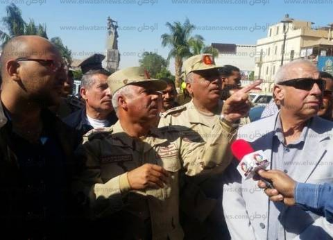 عاجل| كامل الوزير يصل أسوان لتفقد أعمال تطوير محطة السكك الحديدية