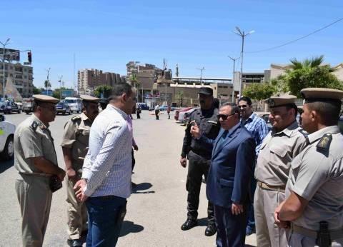 مدير أمن سوهاج يتفقد تمركزات القوات لتأمين احتفالات ذكرى 30 يونيو