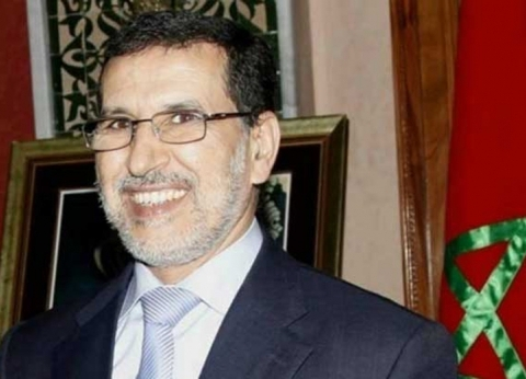 """رئيس الحكومة المغربية يصل مصر للمشاركة في القمة """"العربية- الأوروبية"""""""