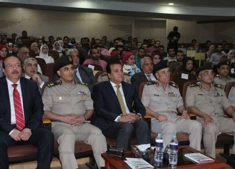ابالصور| القوات المسلحةتنظم مؤتمرا لتنمية قدرات كوادر شباب أطباء الأسنان