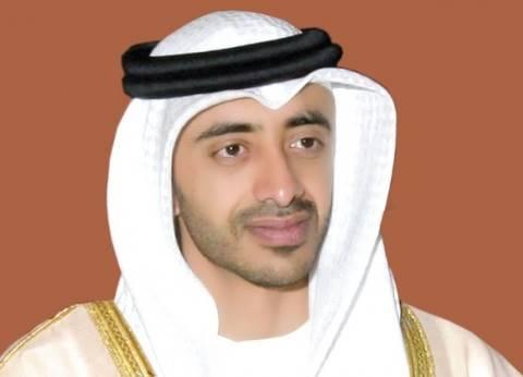 عزالعرب: زيارة عبدالله بن زايد يؤكد التوافق بين مصر والإمارات