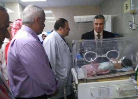 """وكيل """"صحة الإسكندرية"""" يفتتح العناية بمستشفى فوزي معاذ"""