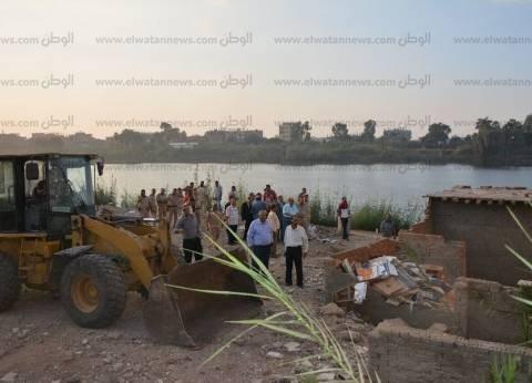 """""""أمن المنيا"""": لودر حفر تسبب في كسر خط الوقود بالصحراوي"""