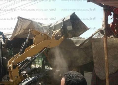 تحرير 122 محضر إشغالات ونقل الباعة الجائلين خلال حملة مكبرة بديروط