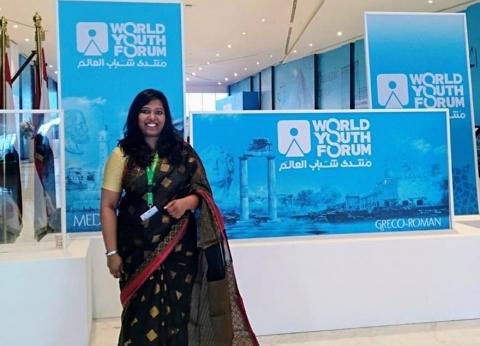 """""""شاندرا"""".. رحلة فتاة هندية من بلد العجائب لـ""""شباب العالم"""" من أجل العلم"""