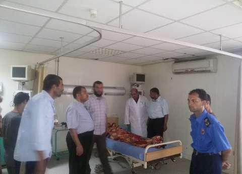 عاجل  نقل المصابين في حادث غرق مركب رشيد إلى مستشفى بلطيم المركزي