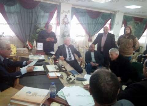 بالصور|محافظ جنوب سيناء خلال لقاء المواطنين الدوري: مكتبي مفتوح للجميع