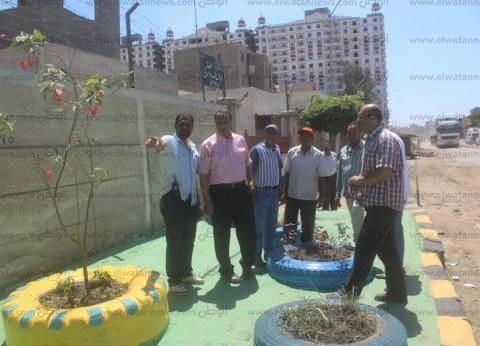 """رئيس """"دسوق"""" يتابع رصف الشوارع وإصلاح الصرف الصحي في سنهور ودحروج"""