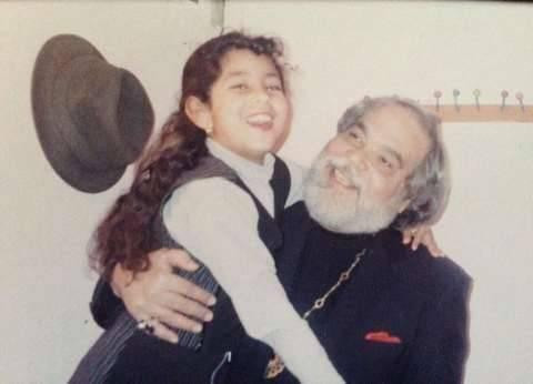 أيتن عامر تستعيد ذكريات الطفولة مع الفنان الراحل علي حسنين