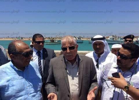 وزير الزراعة: تطوير ميناء الصيد في طور سيناء نقلة نوعية للصيادين