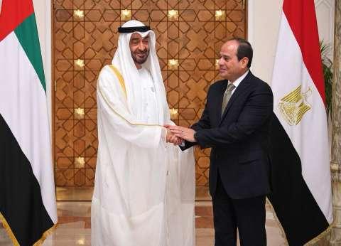 زيارة ولي عهد أبو ظبي لمصر في الصحف الإماراتية