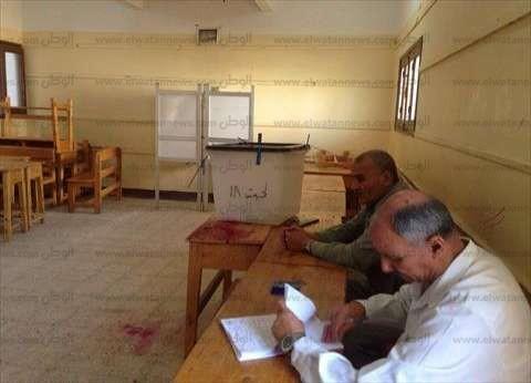 توقف عملية التصويت بسبب مشادة بين قاضٍ وضابط تأمين لجنة انتخابية في سوهاج