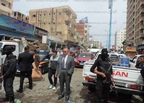 """""""أمن مطروح"""" يفحص 54 شخصا في حملة أمنية بقرى الساحل الشمالي"""