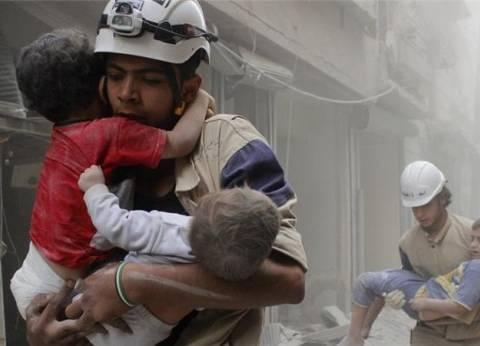 """مظاهرات في مناطق سورية للتنديد بمقتل 7 من """"الخوذ البيضاء"""""""