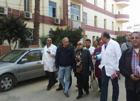 """""""صحة المنوفية"""" تكشف تقصيرا في مكافحة العدوى بمستشفى منوف"""