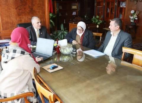 وزير الري يبحث تنفيذ مشروعات الخطة الاستثمارية
