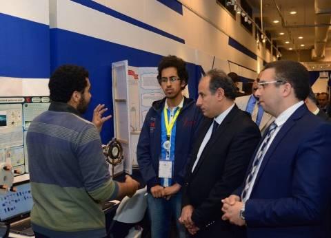 """محافظ الإسكندرية يشهد ختام مسابقة """"إنتل للعلوم والهندسة 2017"""""""