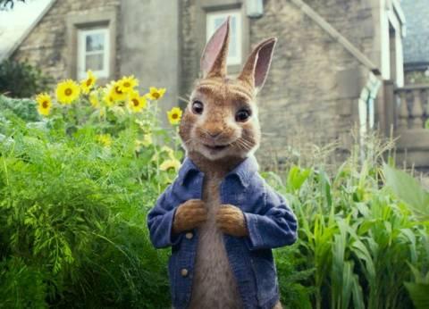 """Peter Rabbit"" في المركز الثالث بـ 75 مليون دولار"