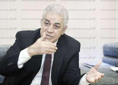 حمدين صباحي يصل مقر نقابة الصحفيين