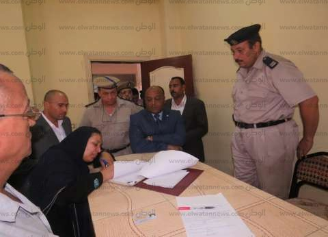 بالصور| مدير أمن الغربية يتفقد مركز شرطة كفر الزيات ويجتمع بمحامين
