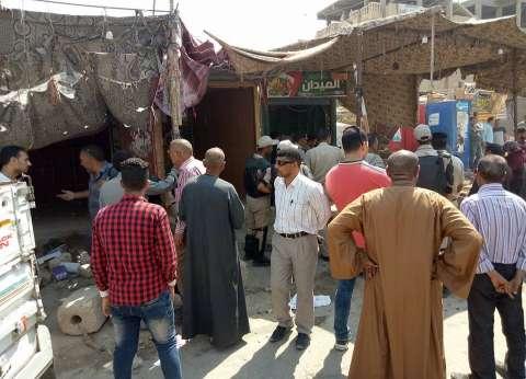 «جمرك الإسكندرية» يشن حملة لإزالة الإشغالات من 4 شوارع