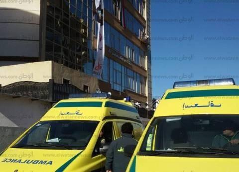 إسعاف كفر الشيخ يدفع بعدد من السيارات لتأمين زيارة وزير الثقافة