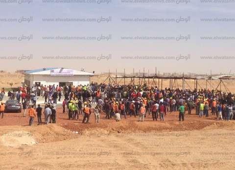 بالصور| العاملون بالعاصمة الإدارية يحتشدون للتصويت في انتخابات الرئاسة