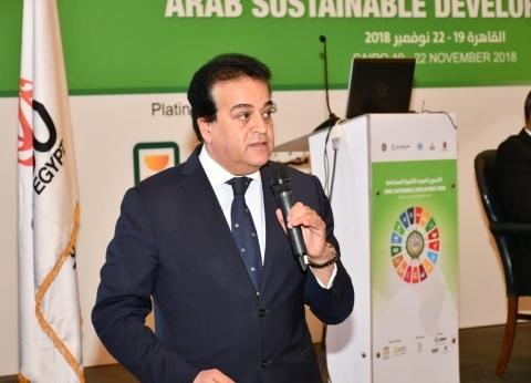 """وزير التعليم العالي: توقيع بروتوكول مع """"العربية للتصنيع"""""""