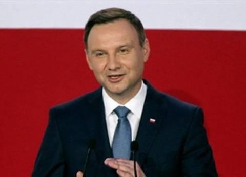 الرئيس البولندي يشبه عضوية الاتحاد الاوروبي بالاحتلال
