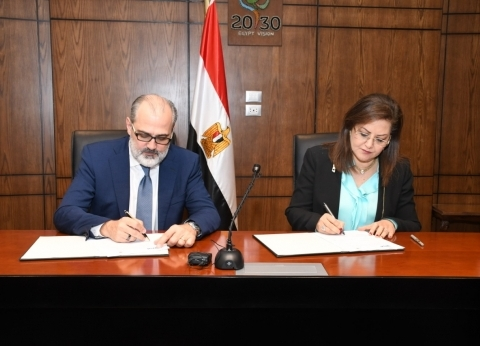 """وزيرة التخطيط توقع مذكرة تفاهم مع """"فيزا"""" لنشر ثقافة المدفوعات الرقمية"""