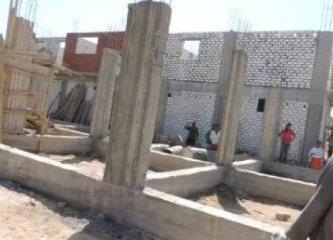 إزالة تعديات على الطريق الصحراوي في الإسكندرية