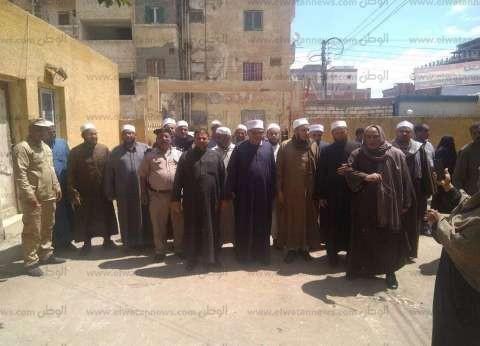 أئمة كفر الشيخ يجوبون القرى لحث المواطنين على المشاركة في الاستفتاء