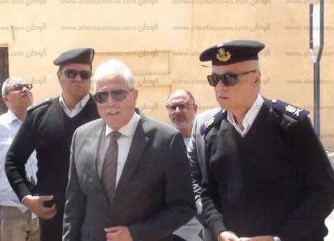 بالصور| محافظ جنوب سيناء يتفقد الإجراءات الأمنية حول كنيسة النبي موسى بالطور