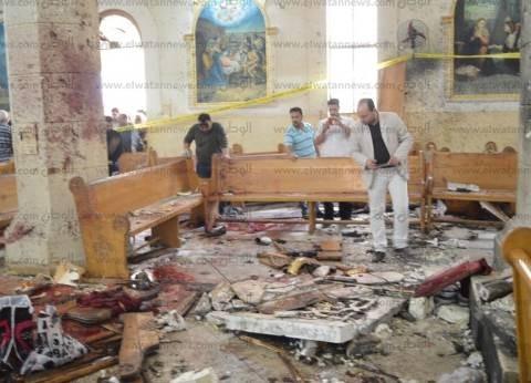 عاجل| وفاة أحد المصابين في تفجير كنيسة مارجرجس بمستشفى معهد ناصر