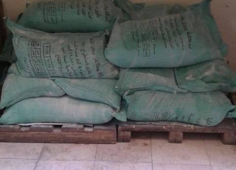 محافظ مطروح يرسل 130 شيكارة دقيق لأهالي قرى بنجر السكر بالحمام