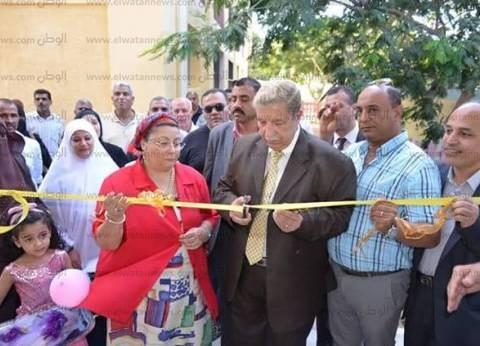 محافظ الإسماعيلية يفتتح توسعات مدرسة عبدالله أبوعلي للتعليم الأساسي